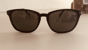 Oval Sunglasses brown-cognac-coloured