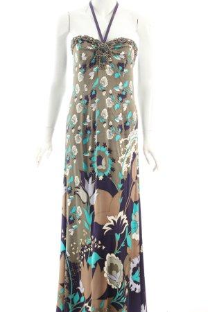 Escada Abendkleid Blumenmuster Eleganz-Look