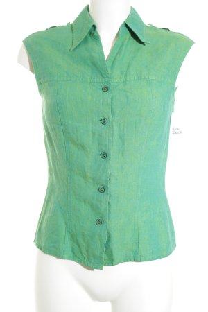 Escada ärmellose Bluse grün Casual-Look