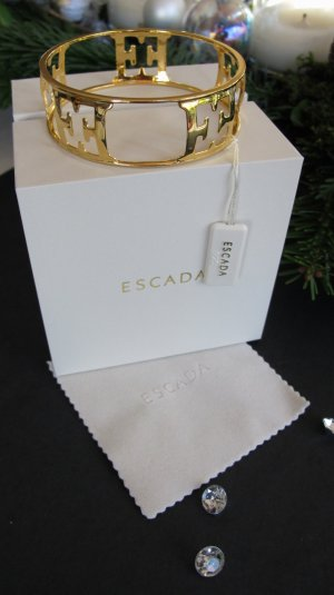 Escada Bangle gold-colored real silver