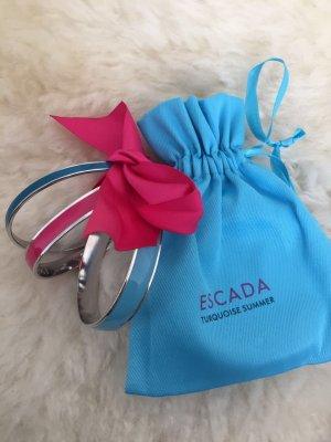 Escada Armreifen blau/türkis/pink