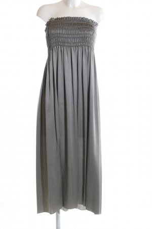 Escada Bandeau Dress light grey elegant