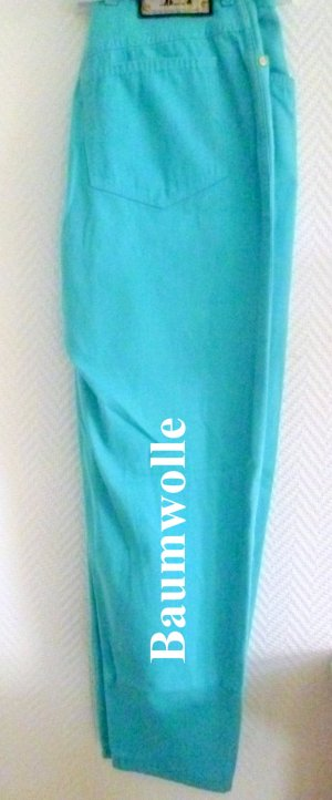 ESCADA Baumwoll-Hose- mit passendem Gürtel aus Leder -Gr.40