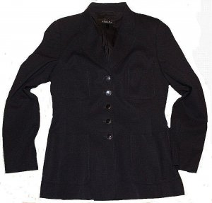 ESCADA BLAZER blauschwarz akt. Kollektion Gr. 38 stretch