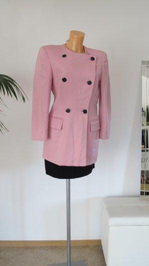 Escada Blazer long rosé-rose clair laine vierge