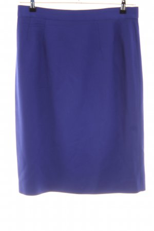 Escada Bleistiftrock blau Business-Look