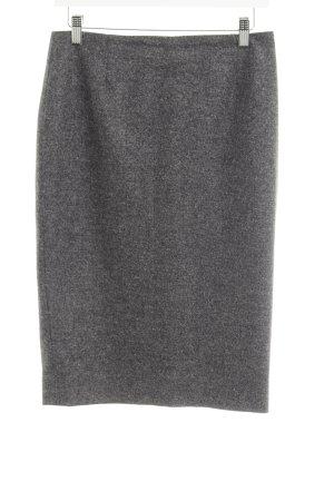 Escada Pencil Skirt grey-white flecked casual look