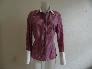 Escada Blouse lila-wit