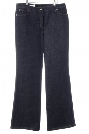 Escada Boot Cut Jeans blau Casual-Look