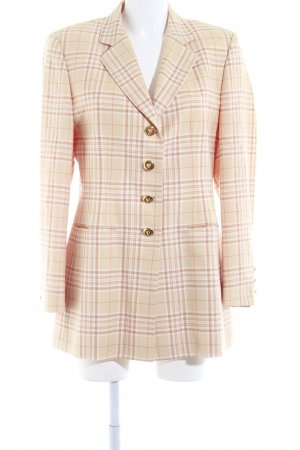 Escada Boyfriend-Blazer hellorange-beige Business-Look