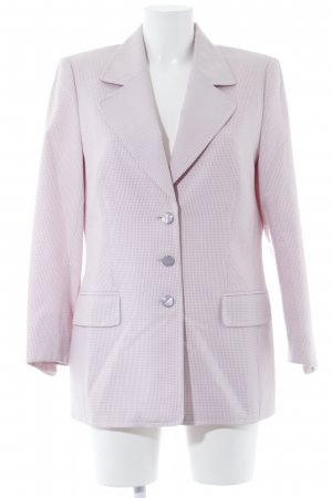 Escada Boyfriend Blazer natural white-purple casual look