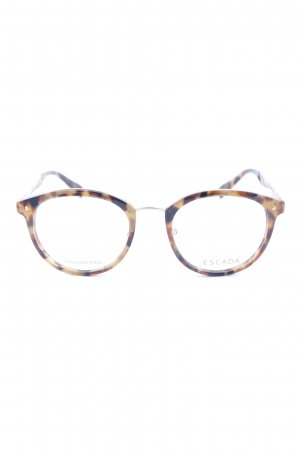 Escada Glasses animal pattern minimalist style