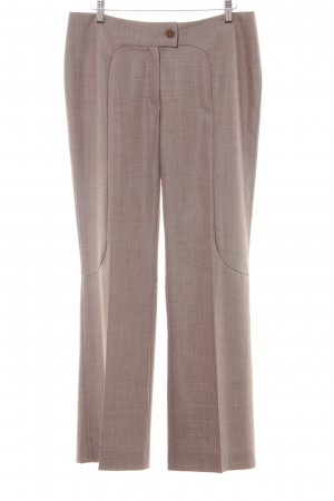 Escada Bundfaltenhose hellbraun Business-Look
