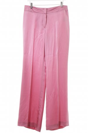 Escada Bundfaltenhose rosa Casual-Look