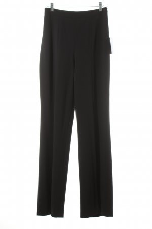 Escada Bundfaltenhose schwarz Street-Fashion-Look