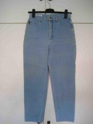 Escada by Margaretha Ley Jeans, helles Denim, High Waste Pocket Style