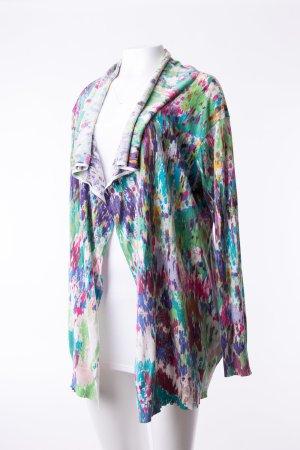ESCADA - Cardigan Seide gemustert mit floralem Print