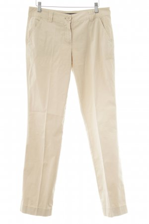Escada Chinohose beige Business-Look