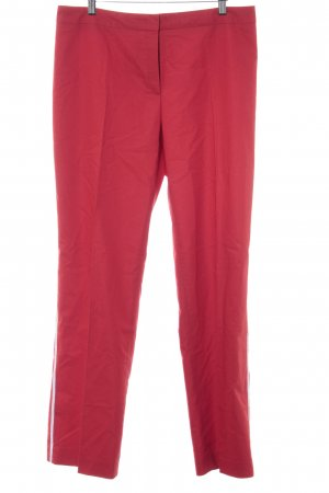 Escada Chinohose rot-weiß Casual-Look