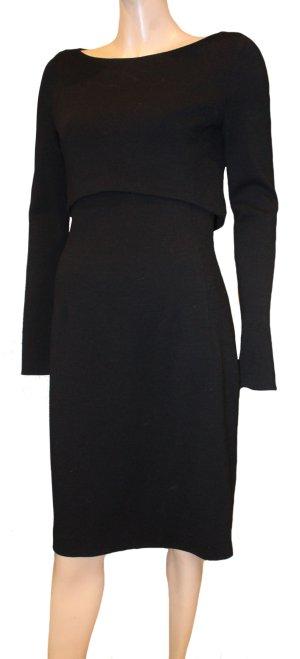 ESCADA Cocktail Kleid Audrey Hepburn Stil schwarz Gr. 36/ 38