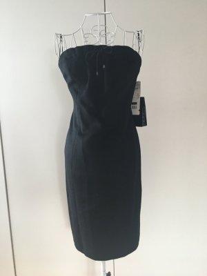Escada Vestido corsage negro Lana