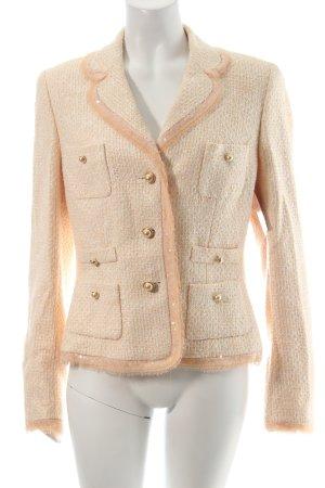 Escada Couture Blazer color carne-rosa chiaro elegante