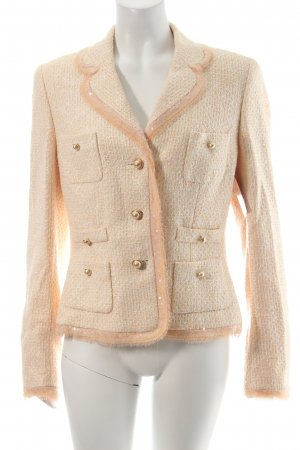 Escada Couture Blazer nude-rosa claro elegante