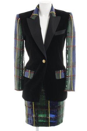 Escada Couture Traje para mujer multicolor estilo extravagante