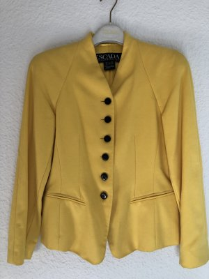 Escada Margaretha Ley Blazer en laine jaune