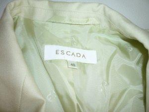 Escada Couture Tailleur pantalone verde pallido Cachemire