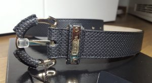 Escada Leather Belt black