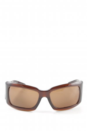 Escada Angular Shaped Sunglasses bronze-colored extravagant style