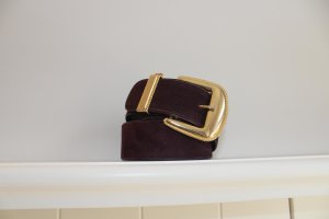 Escada Leather Belt brown suede