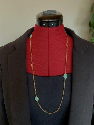 ESCADA Halskette vergoldet mit Halbedelsteinen