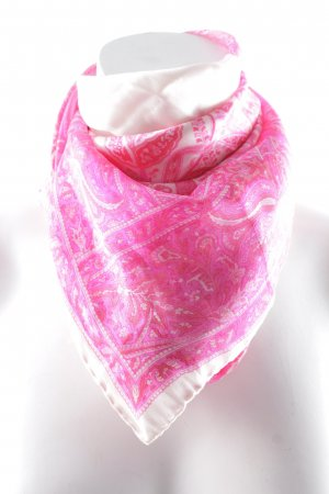 Escada Neckerchief cream-magenta elegant
