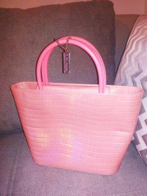 Escada Handbag light pink-pink leather