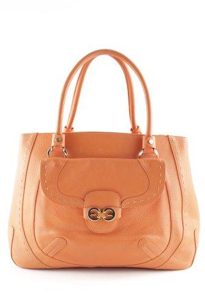 Escada Handtasche neonorange-orange Street-Fashion-Look
