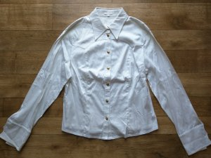 Escada Chemise en jean blanc coton