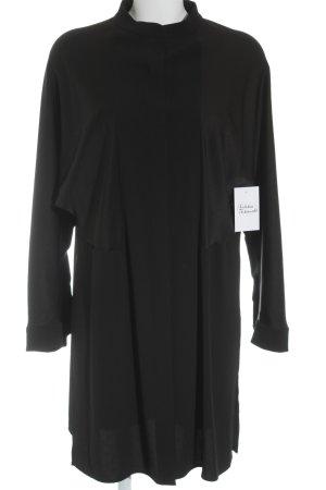 Escada Hemdblusenkleid schwarz klassischer Stil
