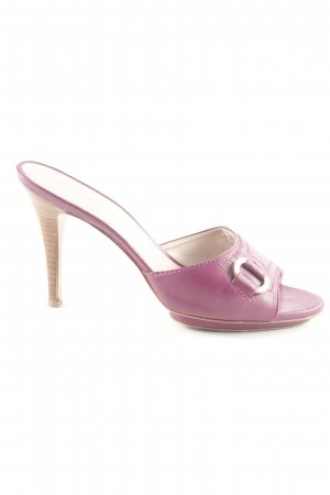 Escada High Heel Sandaletten pink Casual-Look
