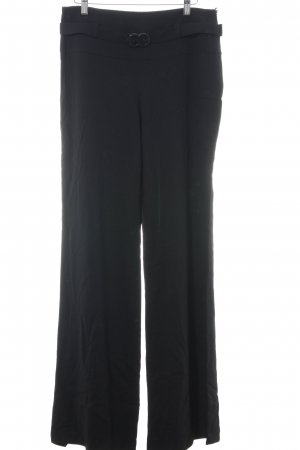 Escada High-Waist Hose schwarz Business-Look