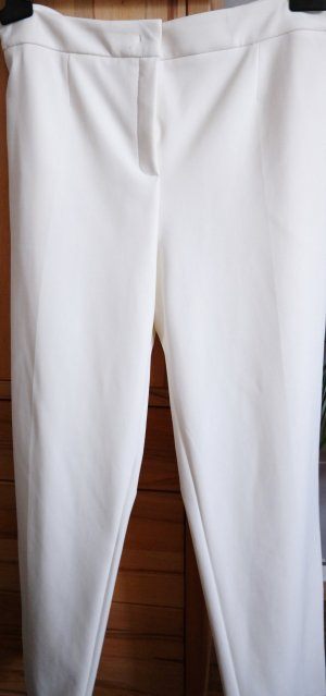 ESCADA Hose 7/8 stretch Off White Neu mit Etikett Gr. 46