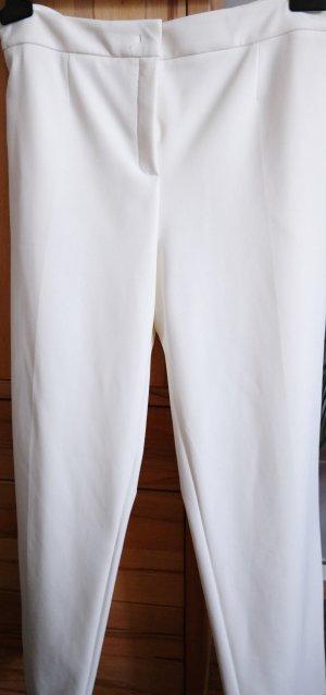 ESCADA Hose 7/8 stretch Off White Neu mit Etikett Gr. 46