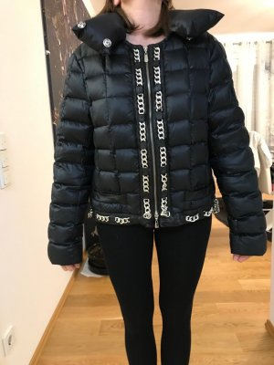Escada Bomber Jacket black mixture fibre