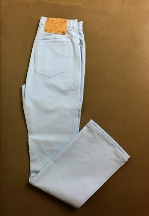 Escada Straight Leg Jeans azure mixture fibre