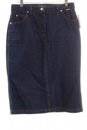 Escada Jeansrock blau Casual-Look