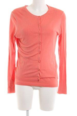 Escada Twin Set tipo suéter pink casual look