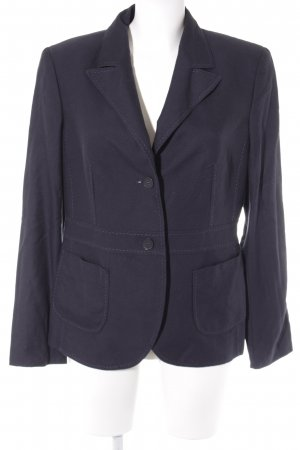 Escada Jerseyblazer dunkelblau Business-Look