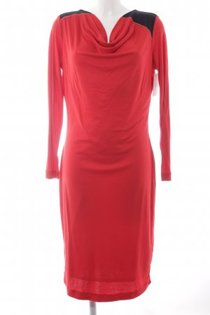 Escada Jerseykleid mehrfarbig Business-Look