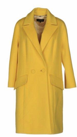 Escada Manteau en laine jaune